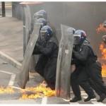 Российские полицейские будут защищаться щитами нового типа