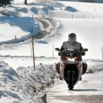 Планируется запретить передвижение на мотоциклах в зимний период