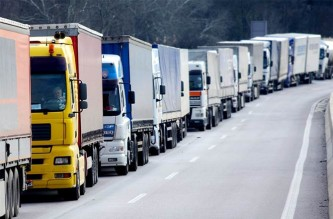 Размер штрафов для водителей большегрузов, не оплачивающих проезд по федеральным дорогам, предлагается снизить