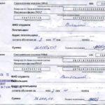 скачать пример платежного документа об оплате учебы